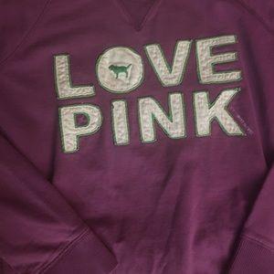 Victoria's Secret PINK Love 86 Sweatshirt (2006)